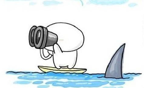 540-funny-cartoon-watch-far-with-binocular-with-sharks-nearby1-e1438588931858